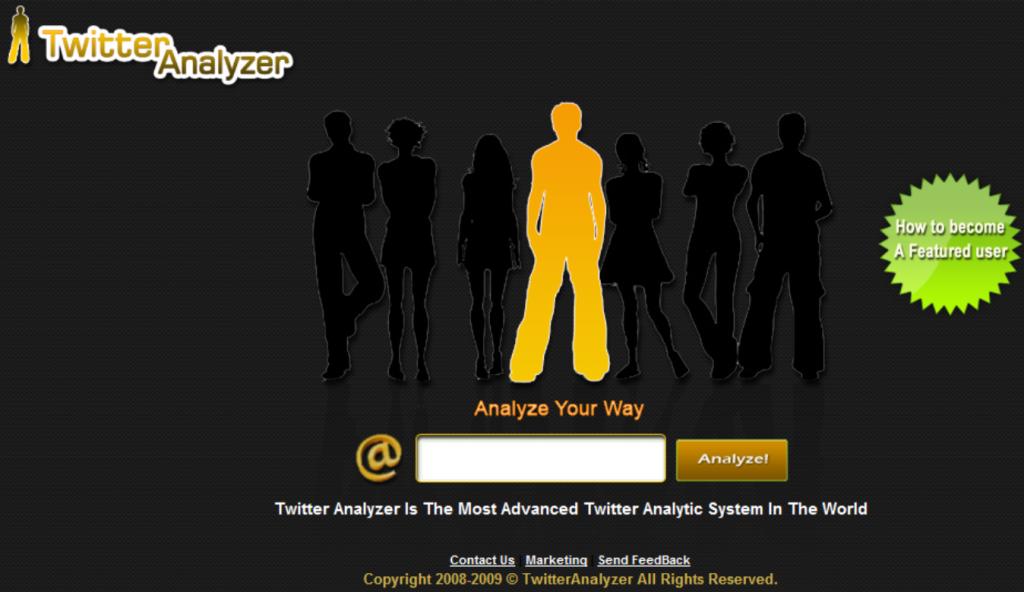 Buscador de amigos adultos de Google Analytics