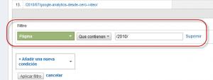 Informe personalizado oculto Filtro 300x113 Google Analytics Informe Personalizado con Filtro Avanzado de Otra Dimension