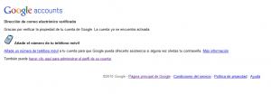 cuenta google activacion 300x104 Como usar Google Analytics con tu email actual