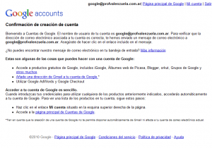 cuenta google confirmacion 300x210 Como usar Google Analytics con tu email actual