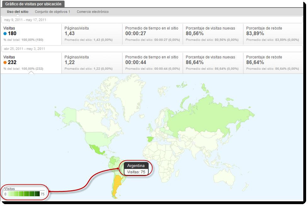 visitas ubicacion google analytics standar1 Google Analytics geolocaliza nuevas métricas