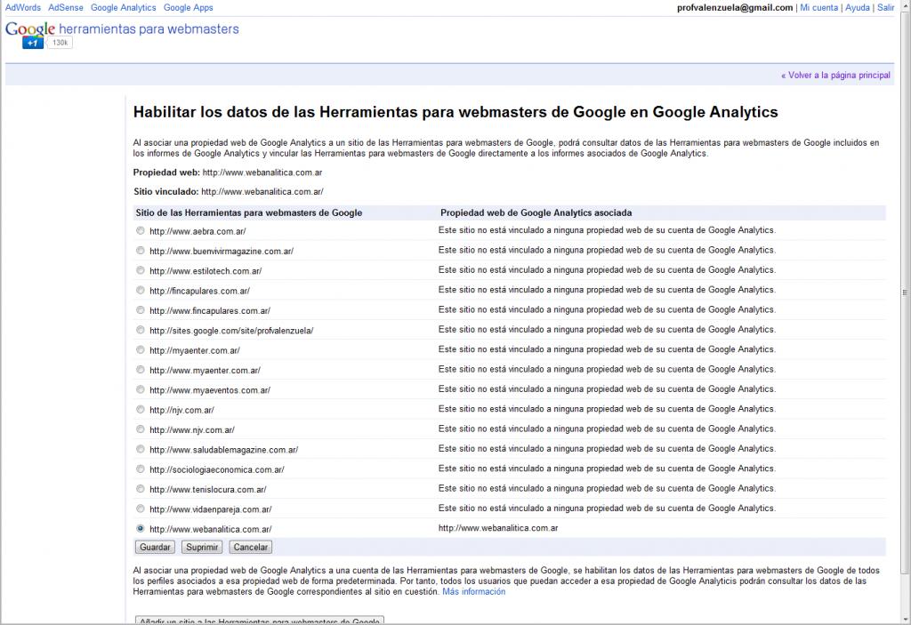 googleanalytics webmaster tools 04 1024x703 Asociacion: Google Analytics & Google Webmaster Tools