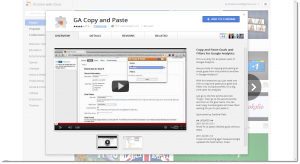 Google Analytics Copy Paste plugin 300x164 Google Analytics Copiar y Pegar Objetivos entre Perfiles