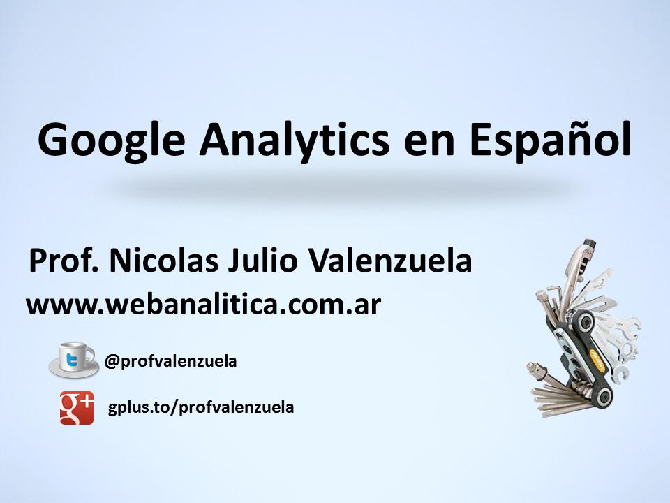 API Google Analytics en Español