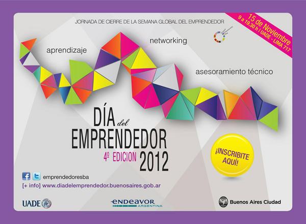 Dia del Emprendero porteño 2012